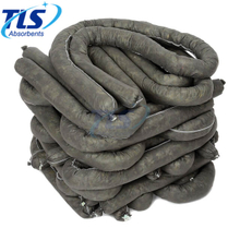 12.7CM x 6M Flexible Universal Polypropylene Absorbent Socks for General Liquid Spills and Leaks