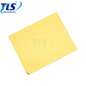 8mm Yellow Hazmat Chemical Spill Absorbent Sheets