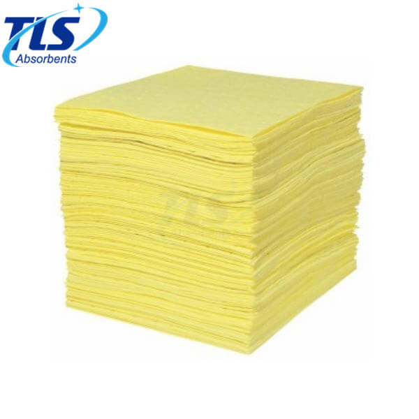 Extra Large Absorbent Sheets For Chemical Spills Effects