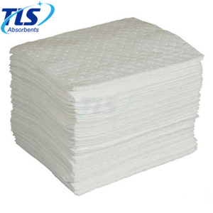 Heavy Weight White Polypropylene Oil Absorbent Pads