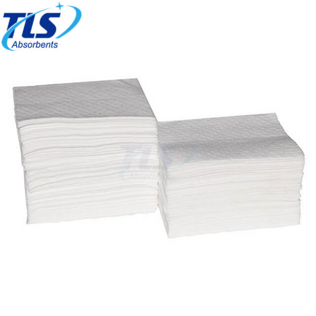 7mm White Absorbent Pads For Oil Spills