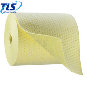 Dimpled Yellow Chemical Spill Hazmat Absorbent Rolls 80cm*50m*8mm