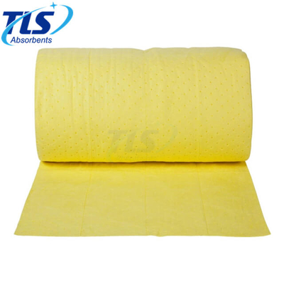 40cm*50m*7mm Dimpled Absorbent Rolls For Chemical-Based Spills