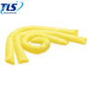 165L Absorbency Chemical Sorbent Mini-booms Yellow Spill Absorbent Sweeping Compound