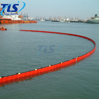 PVC Floating Fence Boom for Marine Oil Spill Reusable Type