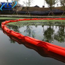 200Meters PVC Oil Spill Solid Floating Containment Boom