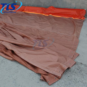 Permeable aquatic silt curtain for aquatic environments