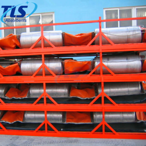 Rubber Orange Oil Spill Fire Resistant Boom