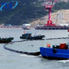 Offshore Oil Float Rubber Containment Boom For Spill Control
